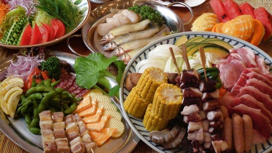 *BBQディナー(5,800円コース)