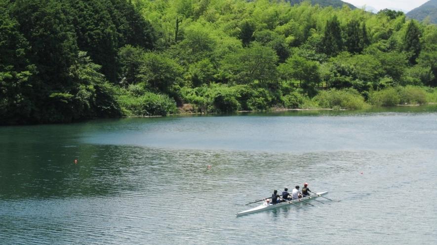 *奥伊勢湖のレガッタ
