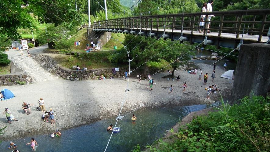 *夏の川遊び♪