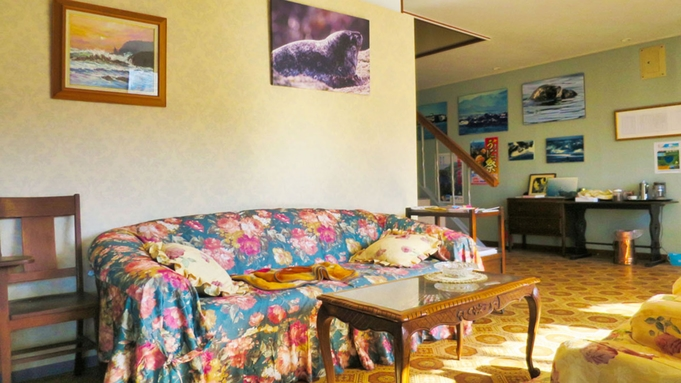 【夕朝食付】<茹で上げ活毛かにプラン>ペットと一緒に出掛けるえりも旅!同宿無料!