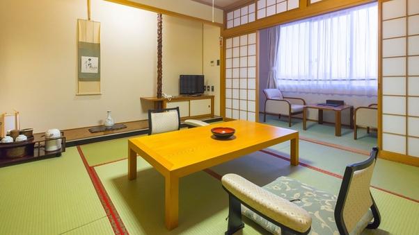 ◆和室スイート(禁煙・和室8畳+ツインルーム10畳・2名用)