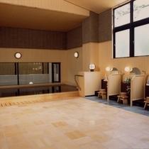 檜風呂(洗い場)
