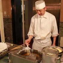 レストラン・オープンキッチン