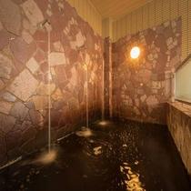 【モール温泉大浴場】打たせ湯
