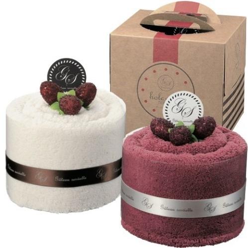 ホールケーキ型タオル※イメージ