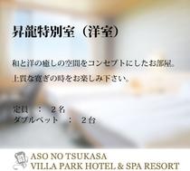 昇龍特別室(洋室)