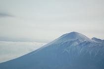 雪化粧の岩手山