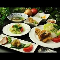 ◆【ポーク味噌カツコース一例】