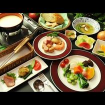 ◆【チーズフォンデュコース一例】