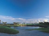 ゴルフコース写真(18番)ロングホール3rd地点より