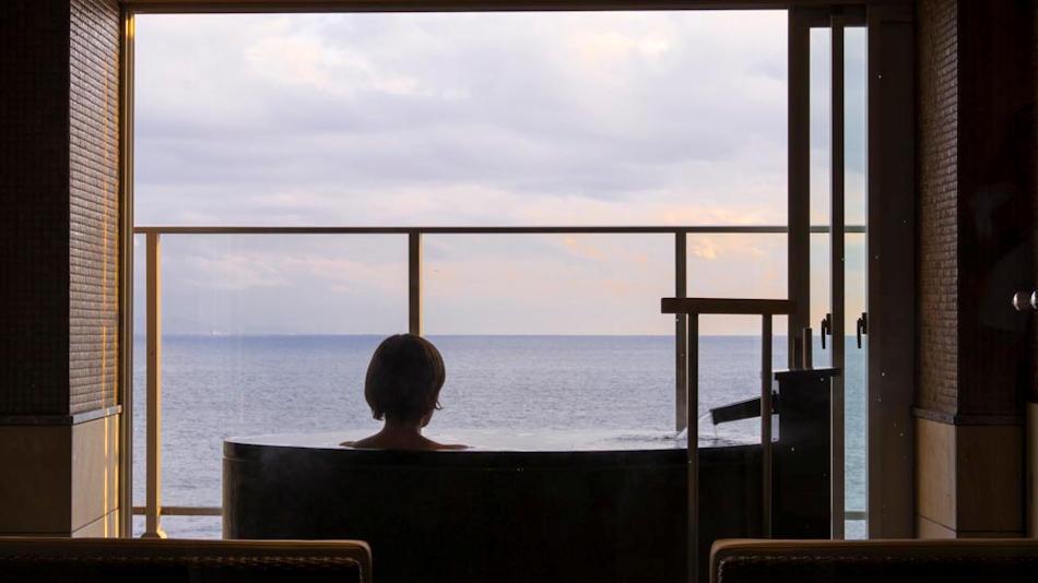 最上階のお風呂から私だけの海