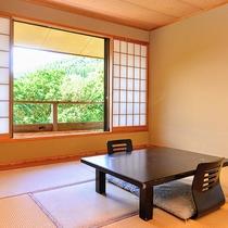 【客室一例】畳のお部屋でゆっくりとお寛ぎ下さい!