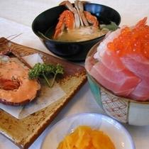お部屋食(海鮮丼)プラン