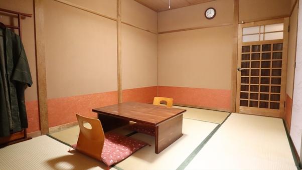 【スタンダード】2名様専用/シンプルな和室6畳(禁煙)