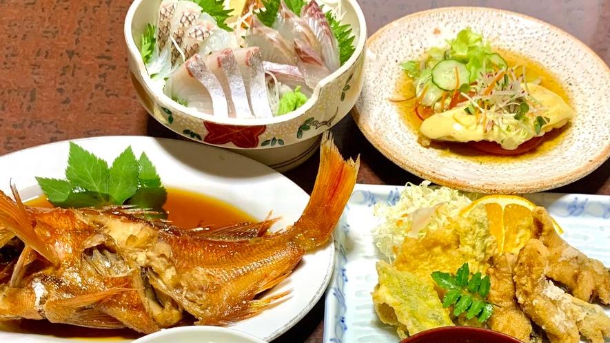 新鮮な海鮮をいろいろな調理法で(^^)