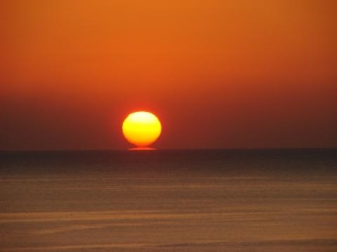 絶景の日の出