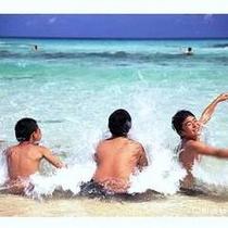 青い海!白い砂浜!千鳥ヶ浜!