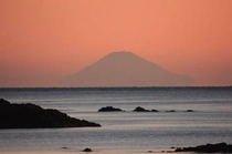 お部屋から見る富士山