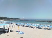 千鳥ヶ浜の夏3