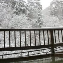 雪景色 かわせみ