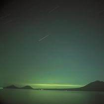 ■支笏湖の新月