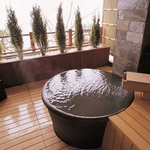 ■貸切温泉露天風呂「丸の湯」