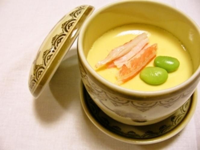 海鮮の茶碗蒸し