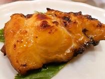 真鱈のウニ味噌焼き