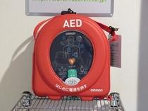 AED(自動体外式除細動器レスキューハート)
