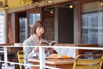 1Fカフェ 1名 ビジネス旅