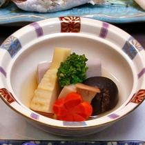 季節野菜の炊き合わせ
