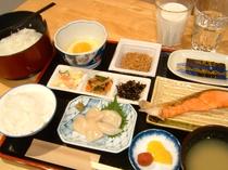 朝食1080円 一例