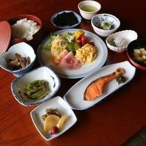*【朝食一例】和洋のメニューをバランスよく取り合わせたお食事で朝から元気!