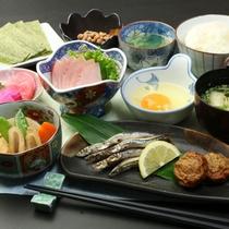 【朝食】朝は健康的な料理でおもてなし♪