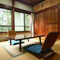 ●桐の間(7畳)●御岳山の空気が美味しい♪自然を感じられるお部屋です。