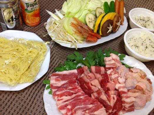 【選べる夕食付♪】焼肉or寄せ鍋の夕食デリバリー付きプラン