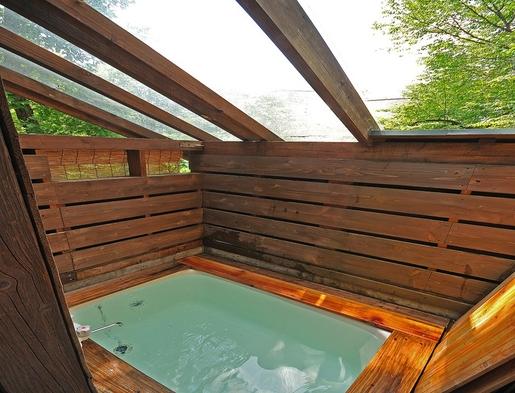 【貸切露天風呂付き!】コテージ備え付けの貸切露天風呂付きプラン♪