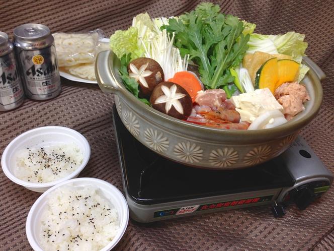 寄せ鍋(食材デリバリー)セット例