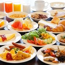 【朝食】和洋朝食バイキング(イメージ)