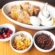 朝食バイキング人気のフレンチトースト(イメージ)