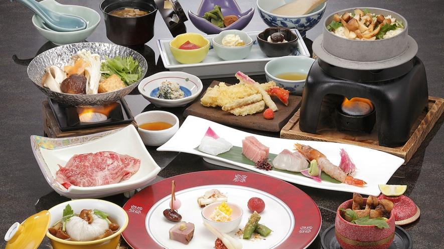 【夕食】日本料理(イメージ)