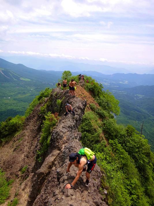 【登山】戸隠連峰登山。命懸けです。お勧めいたしません
