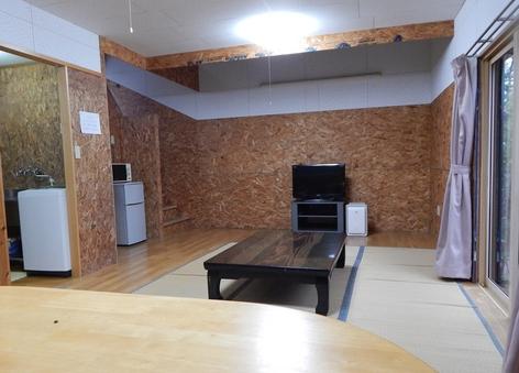 うれしい貸切-別棟・遊山ハウス(16畳+ロフト16畳)禁煙室