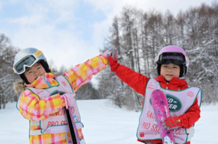 【スキー】ゲレンデデビュー。飯綱高原スキー場