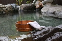貸切軟水露天風呂(50分無料で予約OKです)