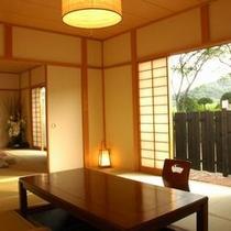 陶器の露付客室(離れ&掘りごたつ&20畳!!)