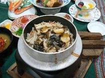 8. サザエの釜飯