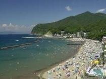 8. 徒歩30秒のビーチは7月1日が海開きです