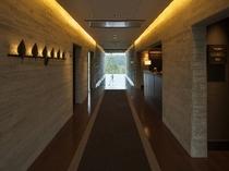 佐用の湯廊下