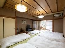 和室六人部屋(バスなし)